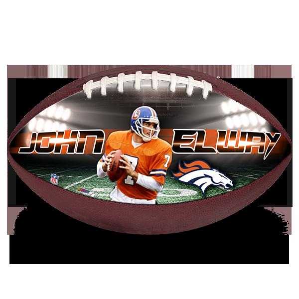 Make A Ball Nfl John Elway Broncos Christmas