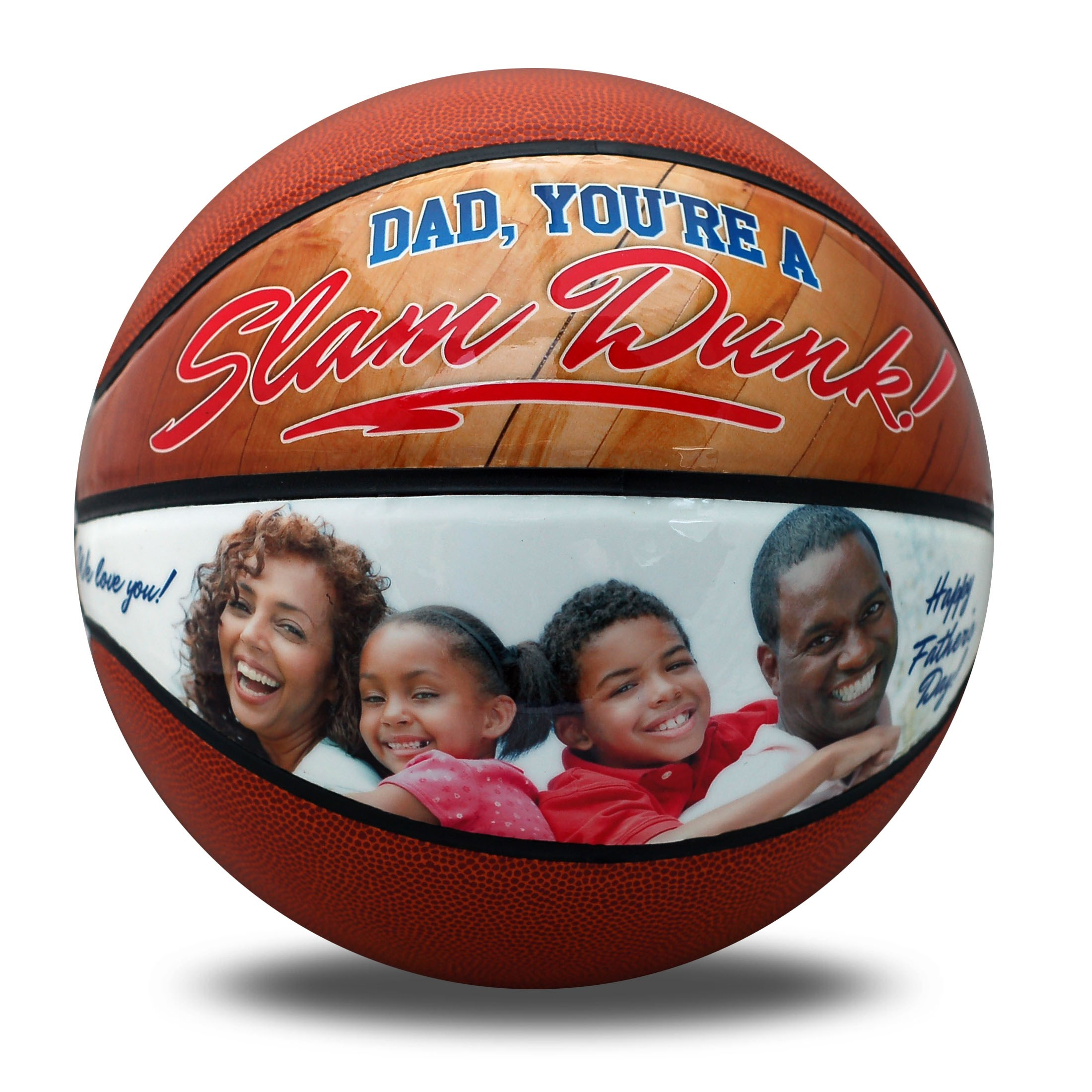 personalized father's day basketball