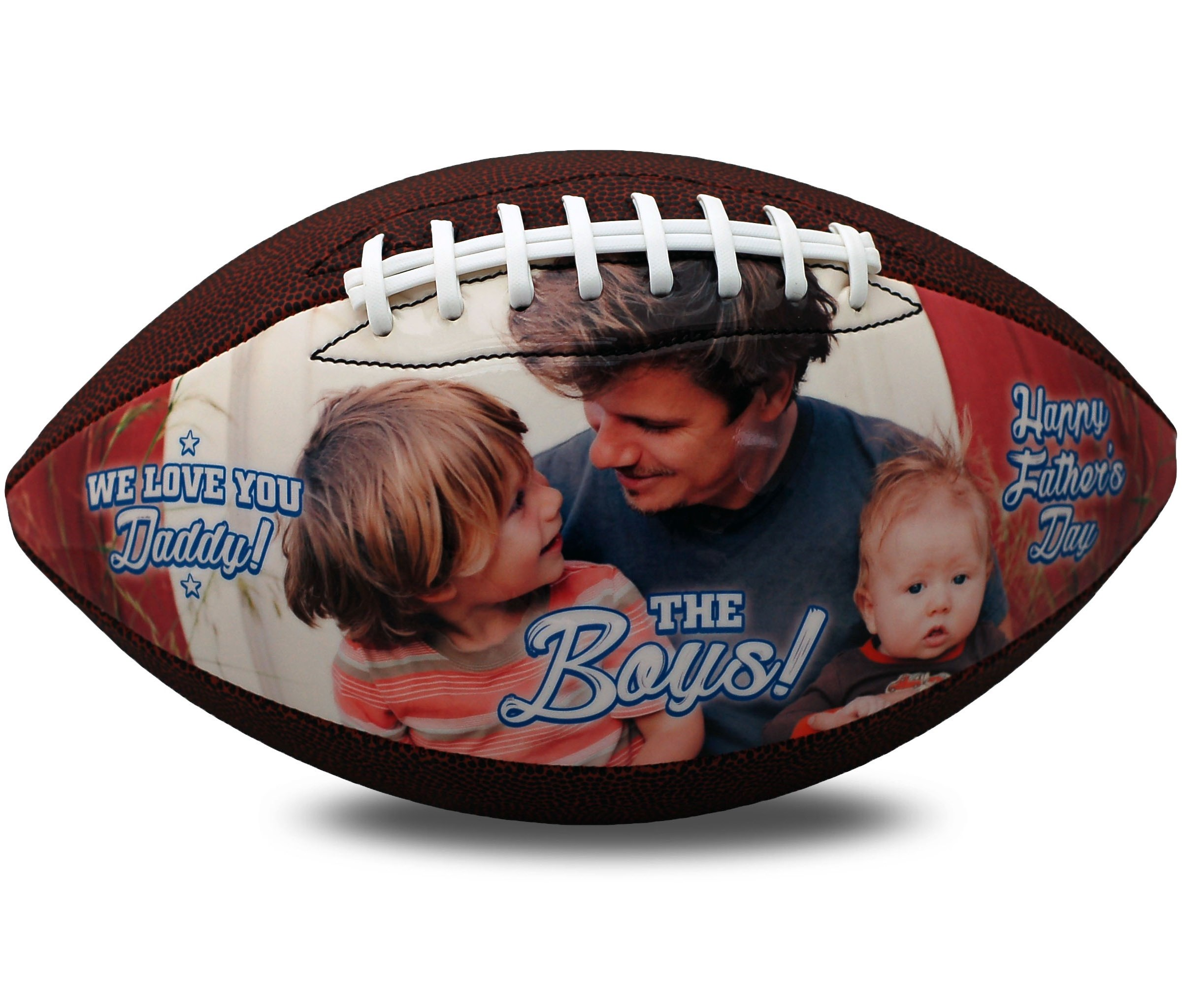 personalized father's day football