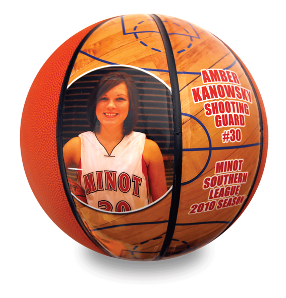 Customized Basketballs